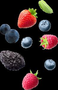 frutas mapa